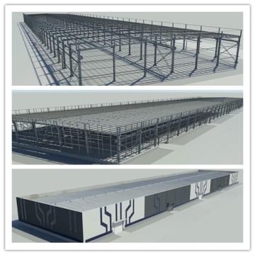 Vorfabrizierte Stahlstruktur-Gebäude-Lager-Werkstatt