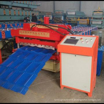 Verglaste Fliesen-Dachblech-Rollenformmaschine für Metall-Wellblech