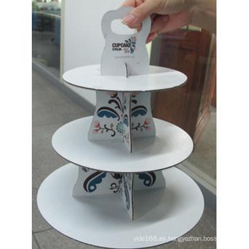 Sache de chocolate / Caja de Dispensación de Currugated / Cake Display Box /