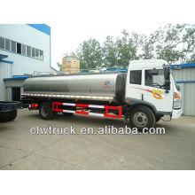 FAW 12000L caminhão de transporte de calor de leite fresco