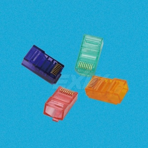 Colorful RJ45 Plug Connector