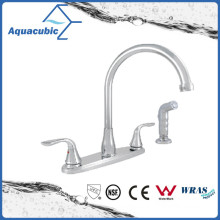 "Modern 8"" Double Handle Kitchen Sink Water Tap Faucet"