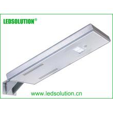 Integra la iluminación de calle solar del panel solar LED de la calle