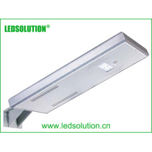 Integre a iluminação de rua do painel solar Luz de rua solar do diodo emissor de luz