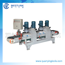 Four Head Stone Tiles and Mosaic Calibrating Machine