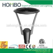 Cul ETL DLC moderna cob die cast iluminação exterior lâmpada de jardim