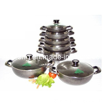 Non-Stick Aluminium Cooking Pot / Casserole