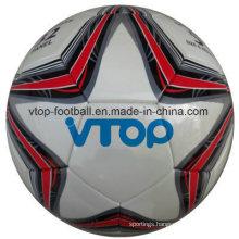 Machine Stitched White Football High Quality