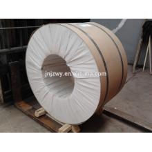 Type de rouleau Vente chaude de bobines d'aluminium laminées à chaud 1060 pour finition de moulin pour toiture
