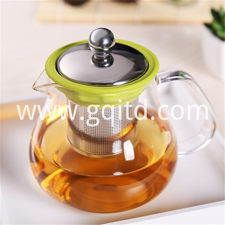 glass teapot