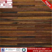 2016 new product Long strip wood mosaic tiles for wall design