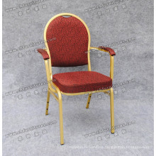 New Design Banquet Hotel Aluminum Arm Chair (YC-ZL13-14)
