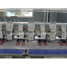 Máquina de bordado de 6 cabezales mezclada con dispositivo de cuerda (TL606 + 6)