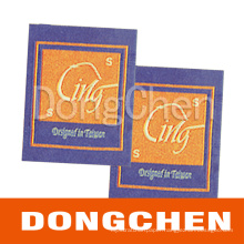 Custom Printed Garment Cloth Woven Fabric Label
