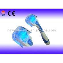 Blue Photon Elétrico Derma Roller rolo de pele para cuidados de beleza