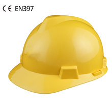 construction industrial V type safety helmet