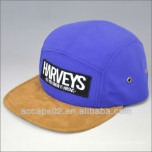wholesale flat brim 5 panel caps