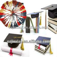 Abschluss-Quaste, Quaste für Abschluss, Abschluss-Dekoration