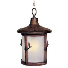 Traditional Outdoor Hanging Pendant Lights Europe Mid Century Patio Lantern 110 - 220 V