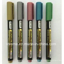 Marcador de tinta metalizada com boa qualidade