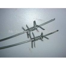 alambre de púas galvanizado (recubierto de pvc)
