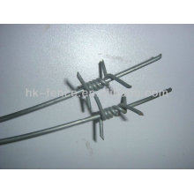 galvanized barbed wire(pvc coated) Factory