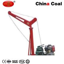 Pequeña grúa del camión del motor diesel de la venta caliente del carbón de Zm China