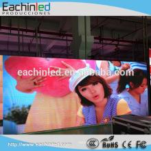 Grande scène de fond vidéo hd conduit affichage intérieur de la lampe de poche p2.5mm