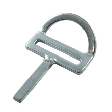 226 45 Degree Bent Stamped Flat D Ring With Welded Bar