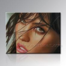 Pintura do retrato do óleo de sua foto