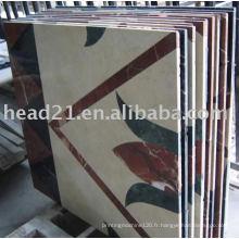 1500 * 2500mm cnc cantilever type de marbre et carrelage en céramique médaillon machine à découper jet d'eau