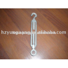 hot-dip galvanizing Hook-eye turnbuckle electric line pole assembly hardware fitting guy wire tension accessories