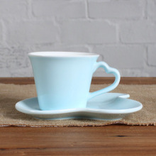 7OZ sky sweet love  cup and saucer