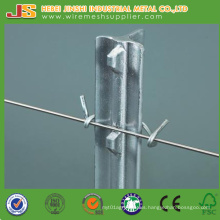 China Factory Hot Sale Painted Metal Studded T Posts