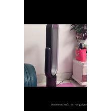 Liangshifu 18 pulgadas inteligente pantalla táctil ABS torre recargable oscilante ventilador de circulación de aire del piso