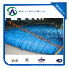 Fio do ferro do PVC de 2.5mm / 3.5mm, fio obrigatório