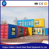 safe and durable prefabricated house for camp office school