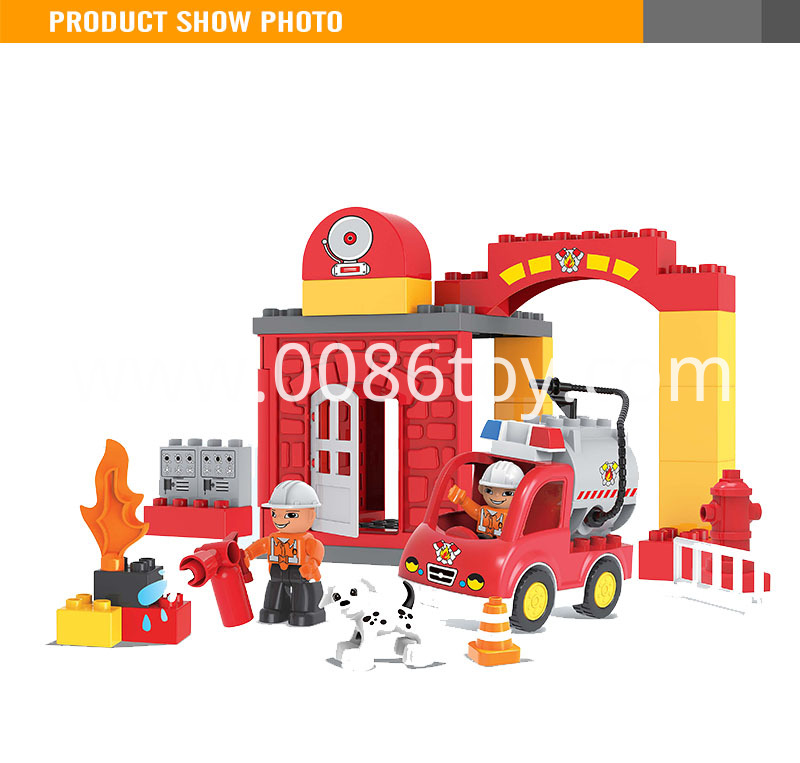 Fire Brigade Abs Plastic Block
