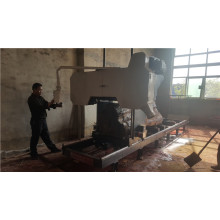 Electric power horizontal bandsaw mill machinery