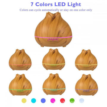 400ml Wood Grain Aromatherapy Essential Oil Diffuser