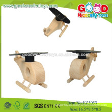 2015 Nuevo diseño y juguete de madera solar de calidad superior Juguete Airplain