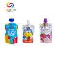 ECO Friendly Laminated Doypack Snack Packaging Spout Pouch
