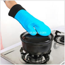 New Diamond Pattern Silicone Cotton Liner Rubber Glove