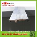 Tubo de ranura de aluminio barata con certificación ISO