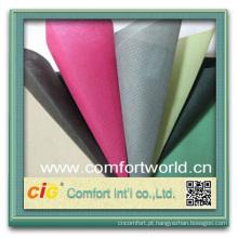 Design de moda nova muito colorido ningbo pp spunbonded tecido não-tecido