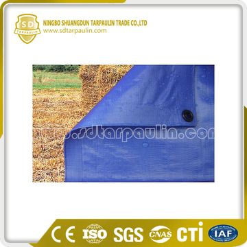 Blue Tarpaulin Covers High Density HDPE Fabric