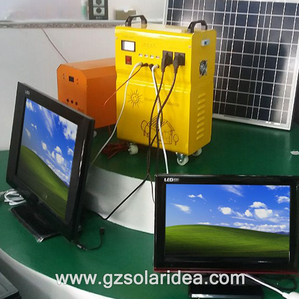 Off-grid Led Solar Home Lighting System