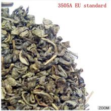 Seris de pólvora de chá verde chinês 3505A com padrão da UE