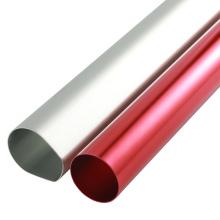 CNC milling customized red anodized aluminum tube