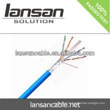 Lansan utp cat6 Kabel Lan Kabel 4P 23AWG BC Pass Fluke Test gute Qualität